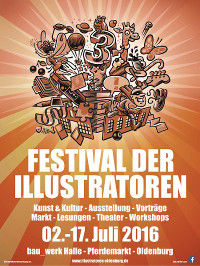3. Oldenburger Festival der Illustratoren 2016